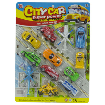 City Cars Play Set | Prices Plus
