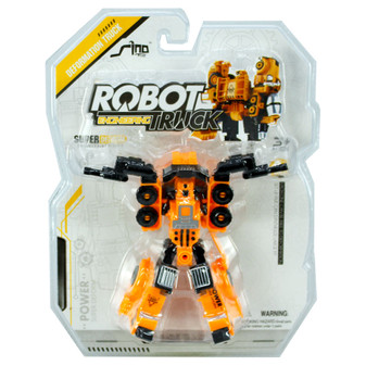 Transformable Robot Construction Truck  | Prices Plus