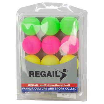 Coloured Table Tennis Balls 12PK | Prices Plus
