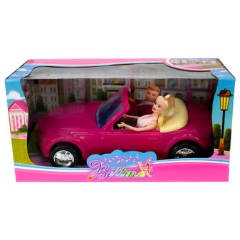 Bettina Doll with Car