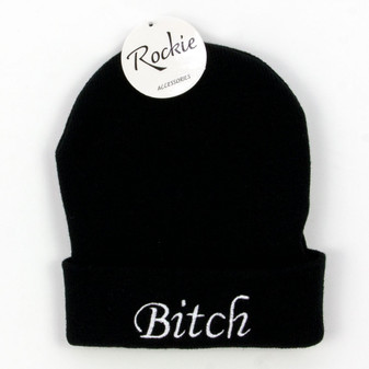 Rockie Unisex Beanie with Sayings | Prices Plus