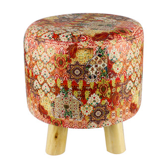 Tribal Printed Stool | Prices Plus