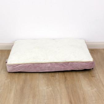 Ruckus & Co Oval Velvet Cushion Bone Design - Large | Prices Plus