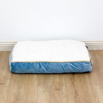 Ruckus & Co Oval Velvet Cushion Bone Design - Medium | Prices Plus