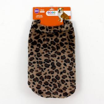 Ruckus & Co Faux Fur Pet Jacket 40cm   Prices Plus