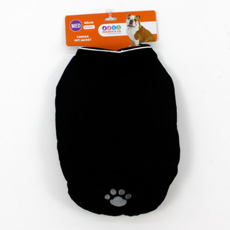 Ruckus & Co Canvas Pet Jacket 40cm | Prices Plus