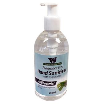 Hand Sanitiser Fragrance Free 250ML | Prices Plus