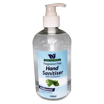 Hand Sanitiser Fragrance Free 500ML | Prices Plus