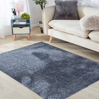 Sumptuous Grey Shaggy Rug - LARGE | Prices Plus