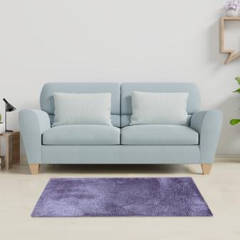 Sumptuous Lavender Shaggy Rug - MED | Prices Plus