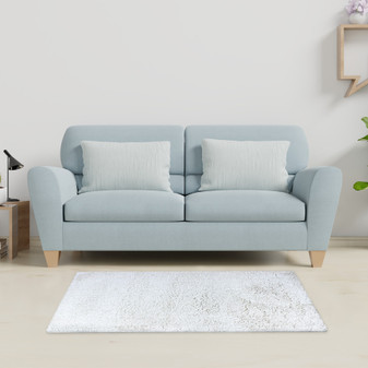 Sumptuous Creme Shaggy Rug - MED   Prices Plus
