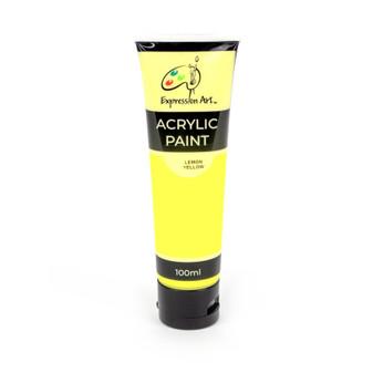Expression Art Acrylic Paint - Lemon Yellow | Prices Plus