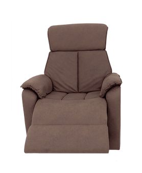 Home Storage & Living Emily Sofa Recliner / Swivel 1 Seater - Chocolate | Prices Plus