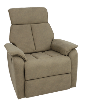 Home Storage & Living Emily Sofa Recliner / Swivel 1 Seater - Beige | Prices Plus