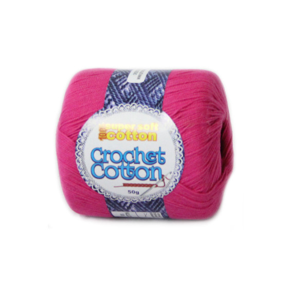 Crochet Cotton Dolly 50g - 10 Pack | Prices Plus