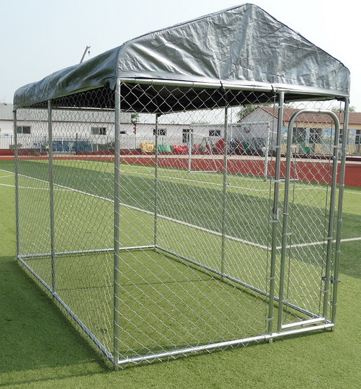 Dog Cage Run with roof   Prices Plus