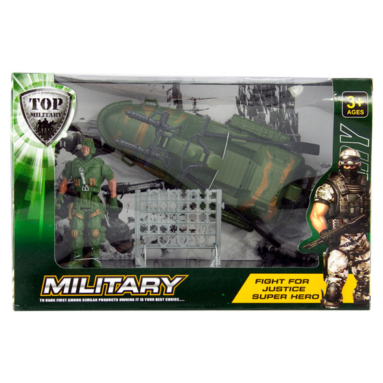 Military Boat Playset   Prices Plus