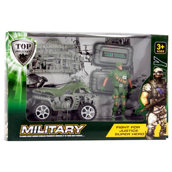 Military Quad Bike Playset | Prices Plus