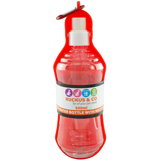 Ruckus & Co Pet Water Bottle With Belt Clip | Prices Plus