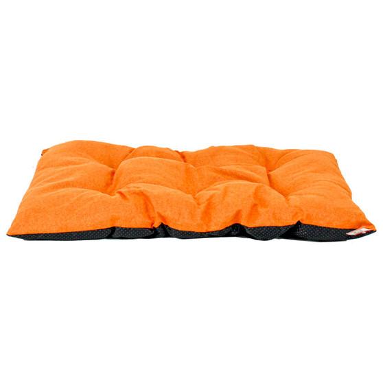 Ruckus & Co Linen Pet Mat Orange | Prices Plus