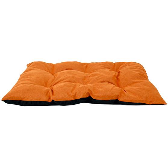 Ruckus & Co Large Linen Pet Mat Orange   Prices Plus