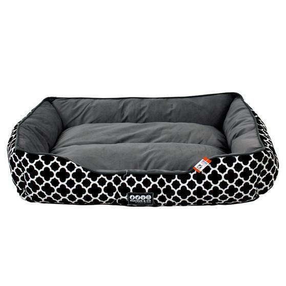Ruckus & Co Canvas Pet Bed Black - Large | Prices Plus