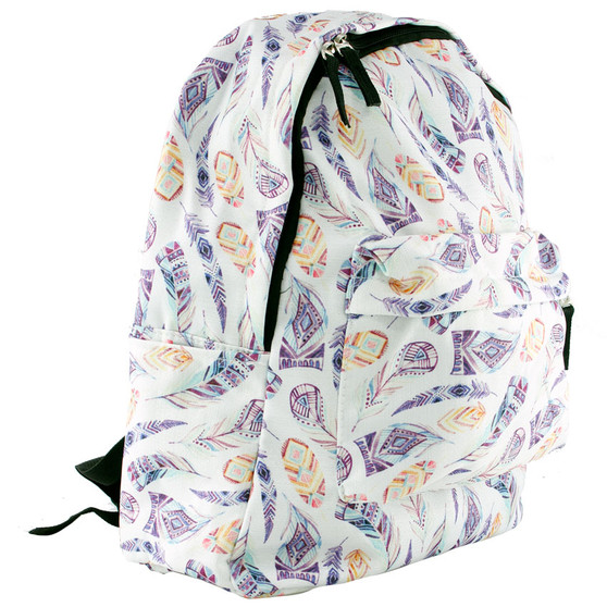 Girls Street Design Backpack - Feather   Prices Plus