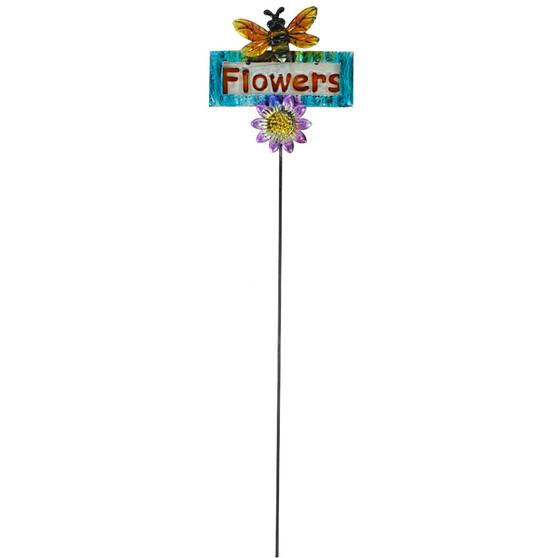 Flowers Garden Stake | Prices Plus