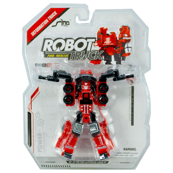 Transformable Robot Fire Truck    Prices Plus
