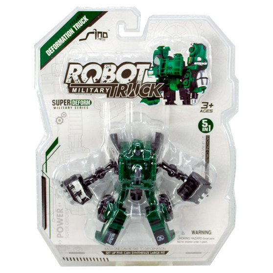 Transformable Robot Military Truck | Prices Plus