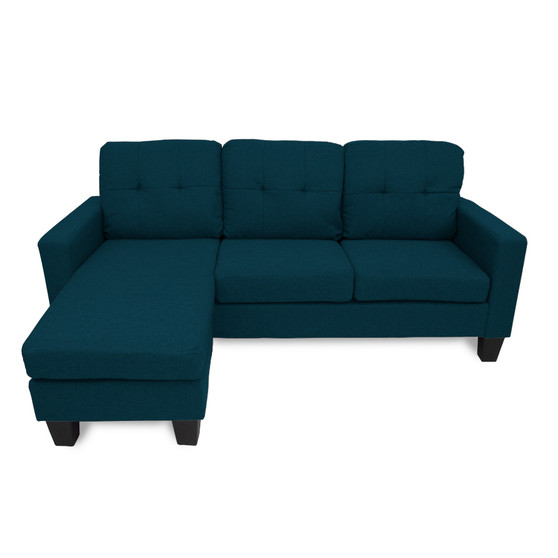Home Storage & Living Jasper Reversible Corner Sofa - Dark Teal | Prices Plus
