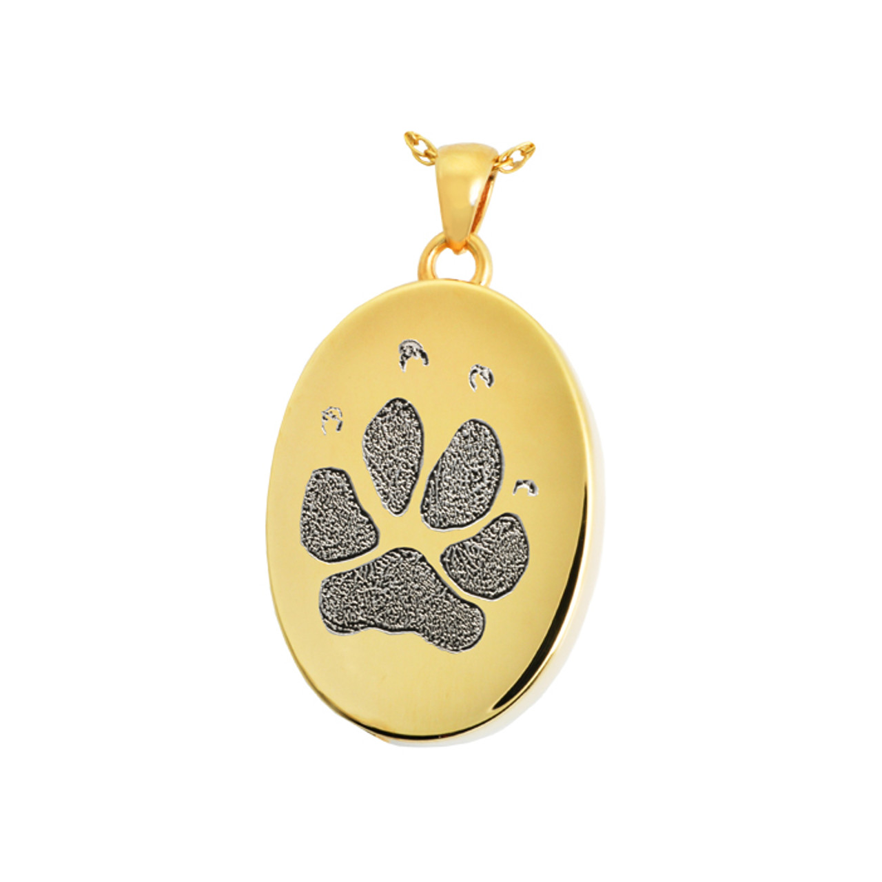 Dog  Cat Cremation Ash Pet Remembrance Jewelry Sterling or Stainless Memorial Charm Pendant Your Pet/'s Nose Print Urn Charm Necklace