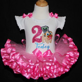 Puppy Dog Pals-2nd birthday girl outfit, Tutu birthday dress