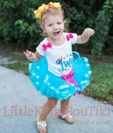 2nd birthday outfit unicorn tutu -toddler birthday dress