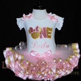 baby girl 1st birthday outfit, minnie mouse 1st birthday outfit