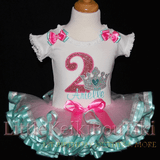 Princess Birthday Tutu Outfit, ribbon trimmed tutu, 2nd birthday outfit girl, Crown birthday princess outfit, personalized birthday shirt