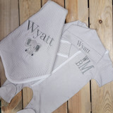 Coming Home Outfit Boy- Monogrammed Baby Gift