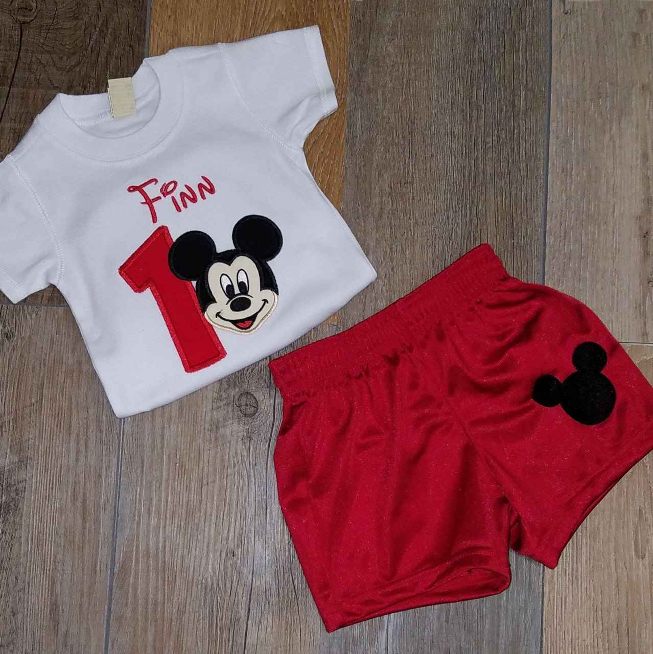 1st birthday Mickey Mouse