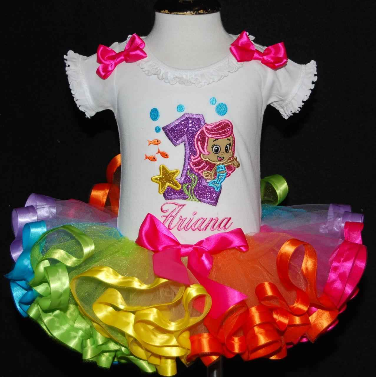 1st birthday girl outfit Bubble guppies