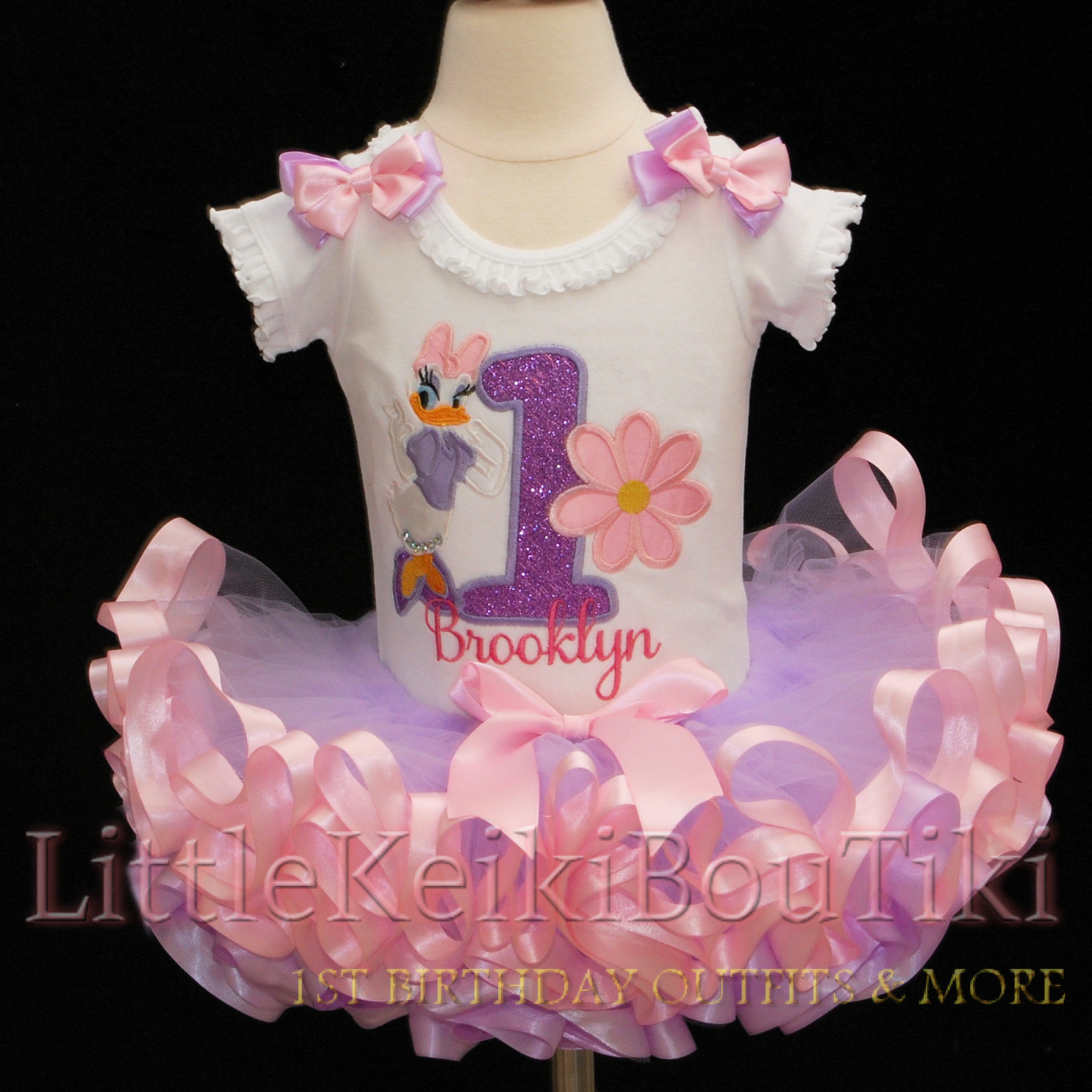 Birthday Outfit-1st birthday girl outfit Daisy Duck