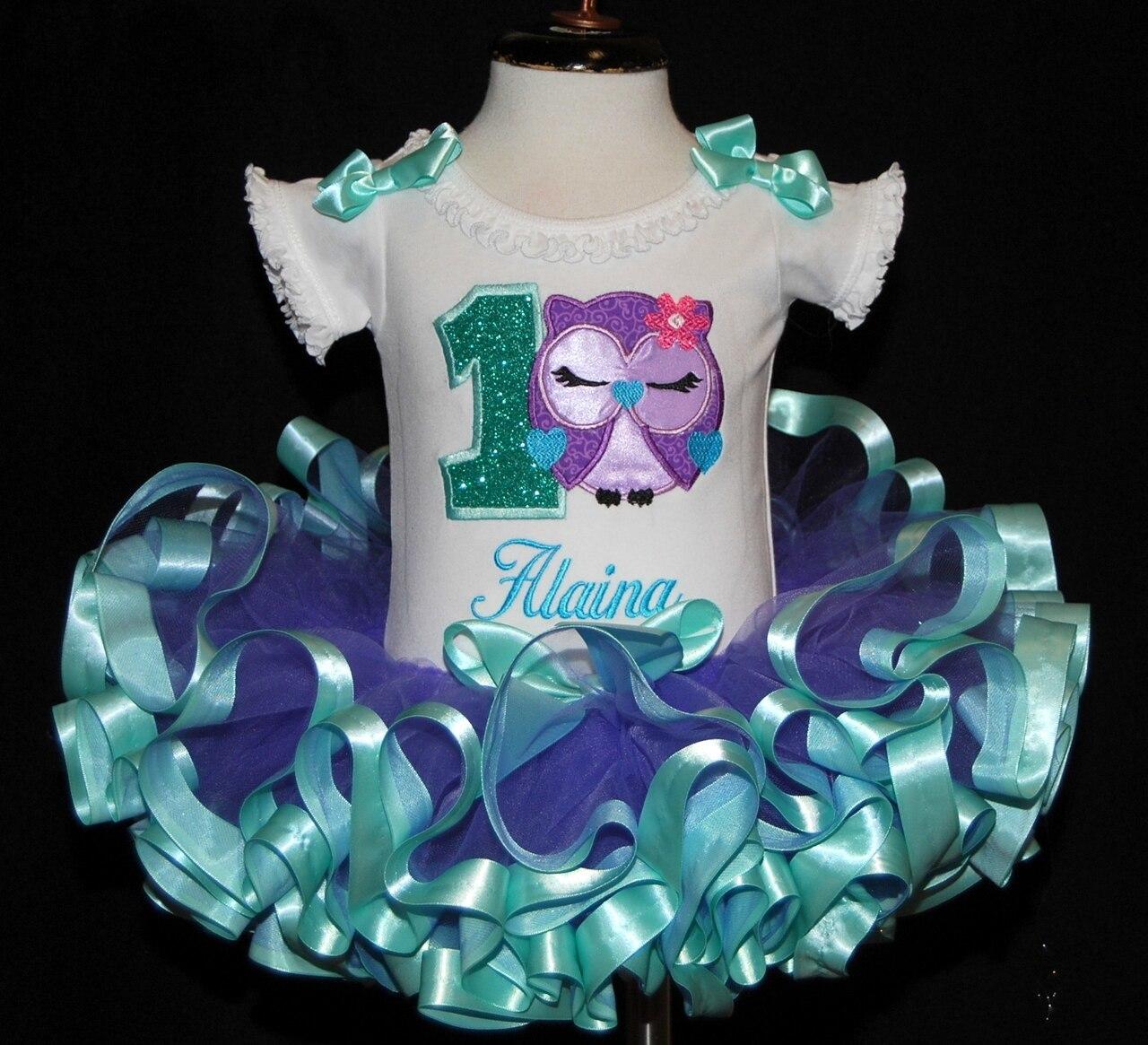 1st birthday girl outfit Owl Tutu