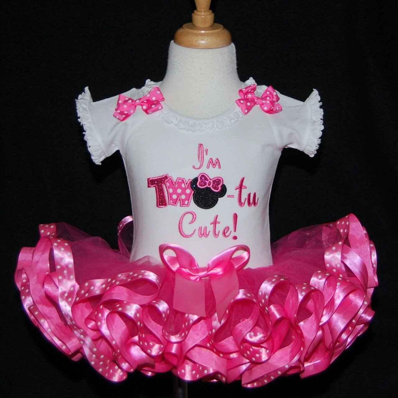 2nd Birthday Outfit girl, Im Tutu Cute birthday dress
