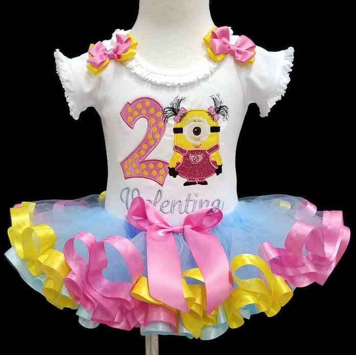 2nd birthday girl outfit, second birthday tutu outfit,