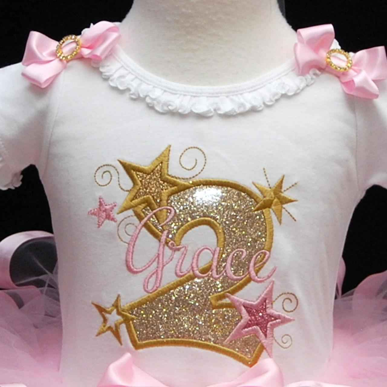 2nd Birthday Sparkle Outfit e