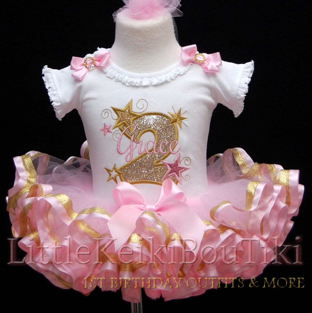 2nd Birthday Sparkle Outfit