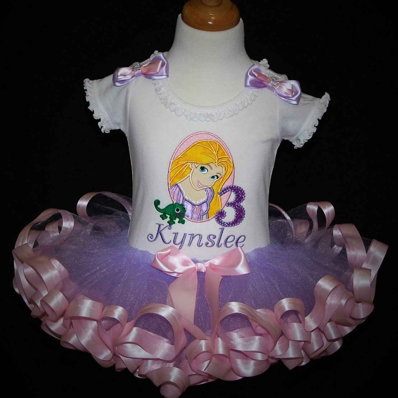 3rd birthday princess outfit personalized