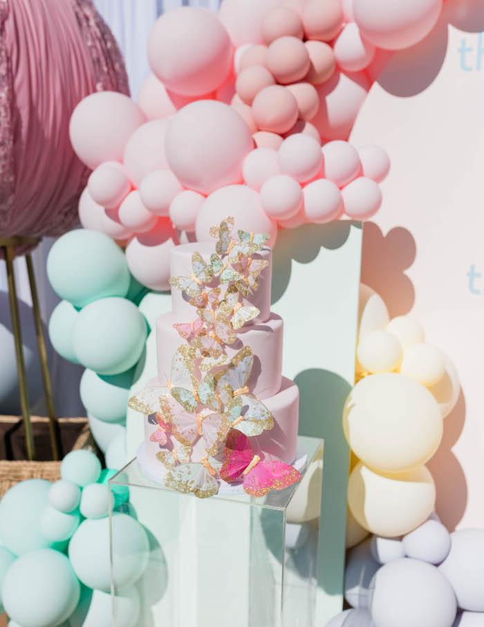 Unicorn birthday outfit-baby girl 1st birthday outfit from Little Keiki Bou-Tiki