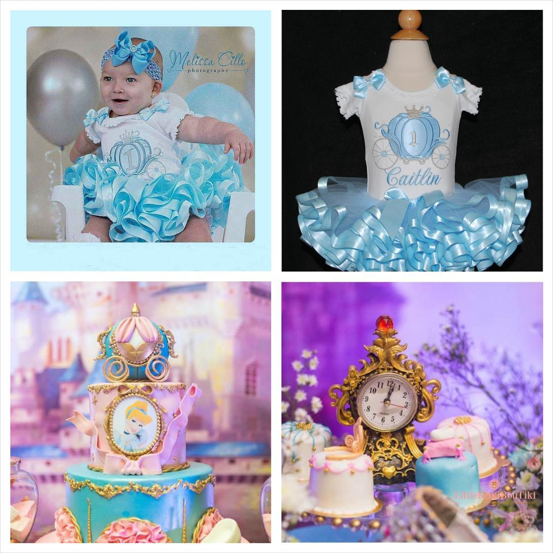 Cinderella's Carriage -1st birthday outfit girl- 4 piece set auto generated by@Outfy
