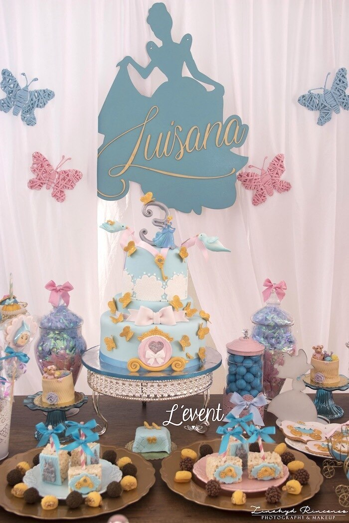 Cinderella 2nd birthday outfit, princess birthday tutu set