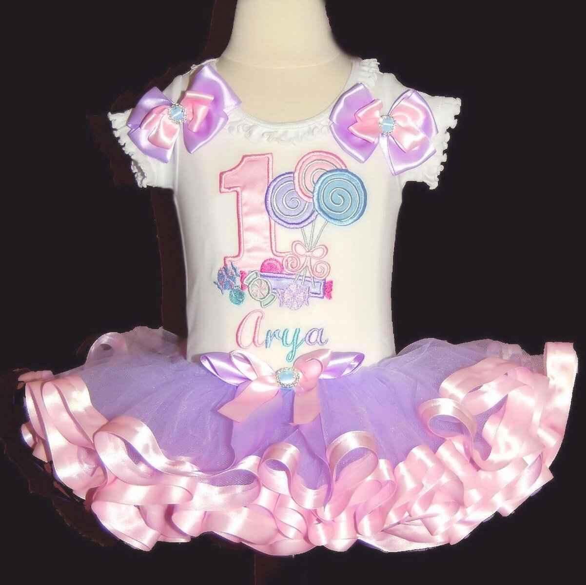 Candyland, Birthday Outfit, Birthday Dress, 1st birthday tutu outfit, candy tutu, lollipop tutu birthday tutu dress